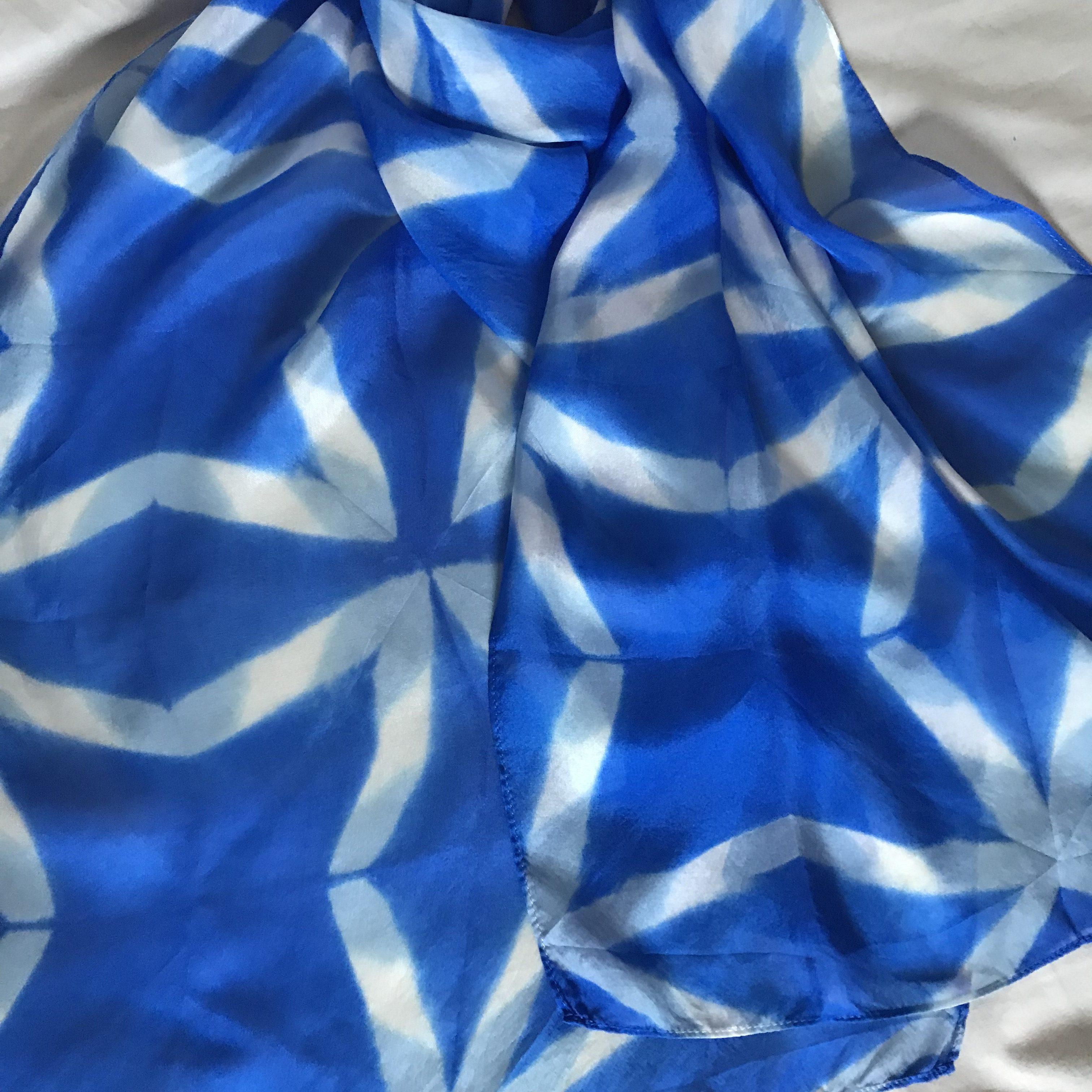 Shibori – mein blaues Wunder