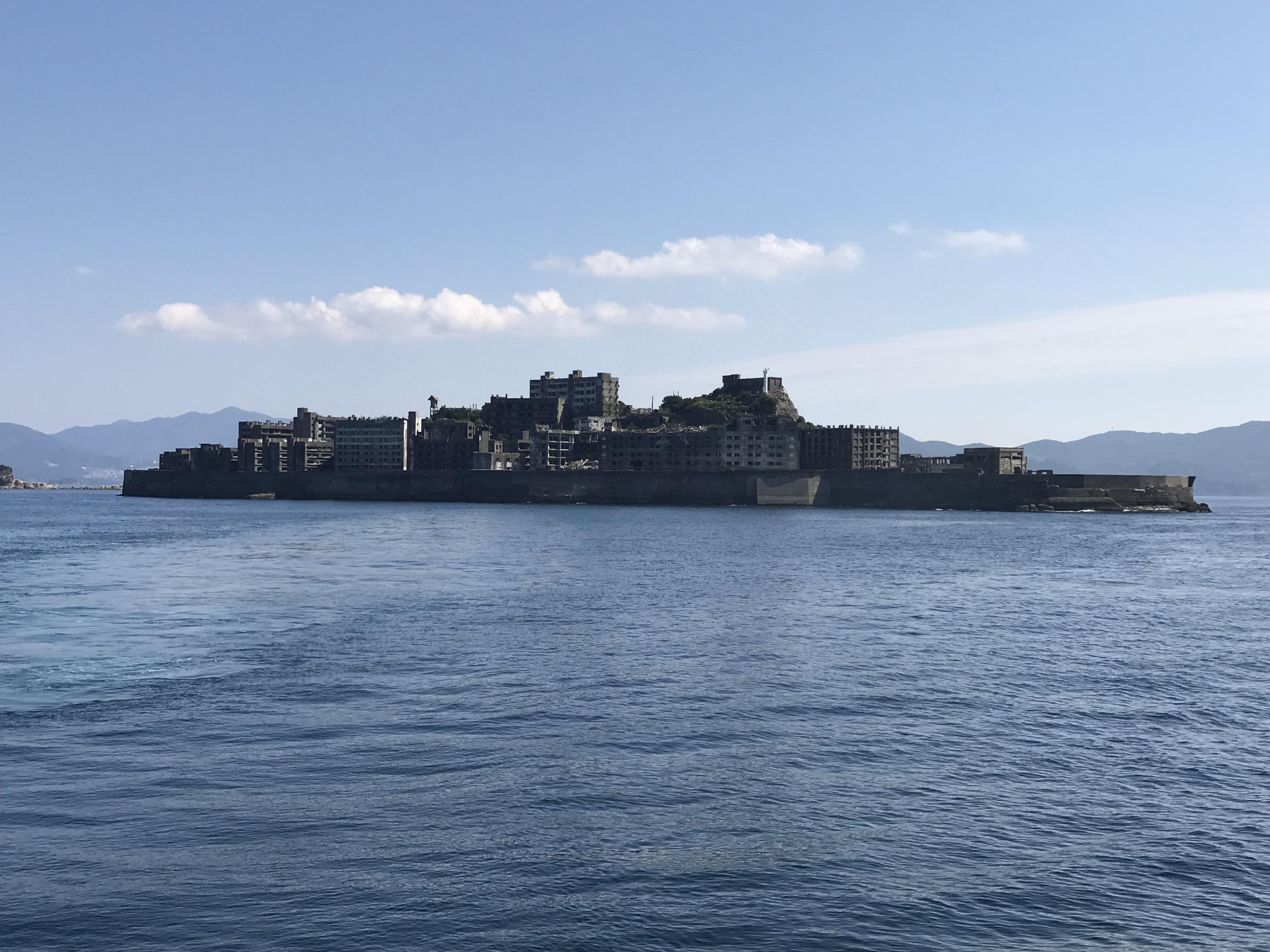 Gunkanjima – wo James Bond den Bösewicht gestellt hat