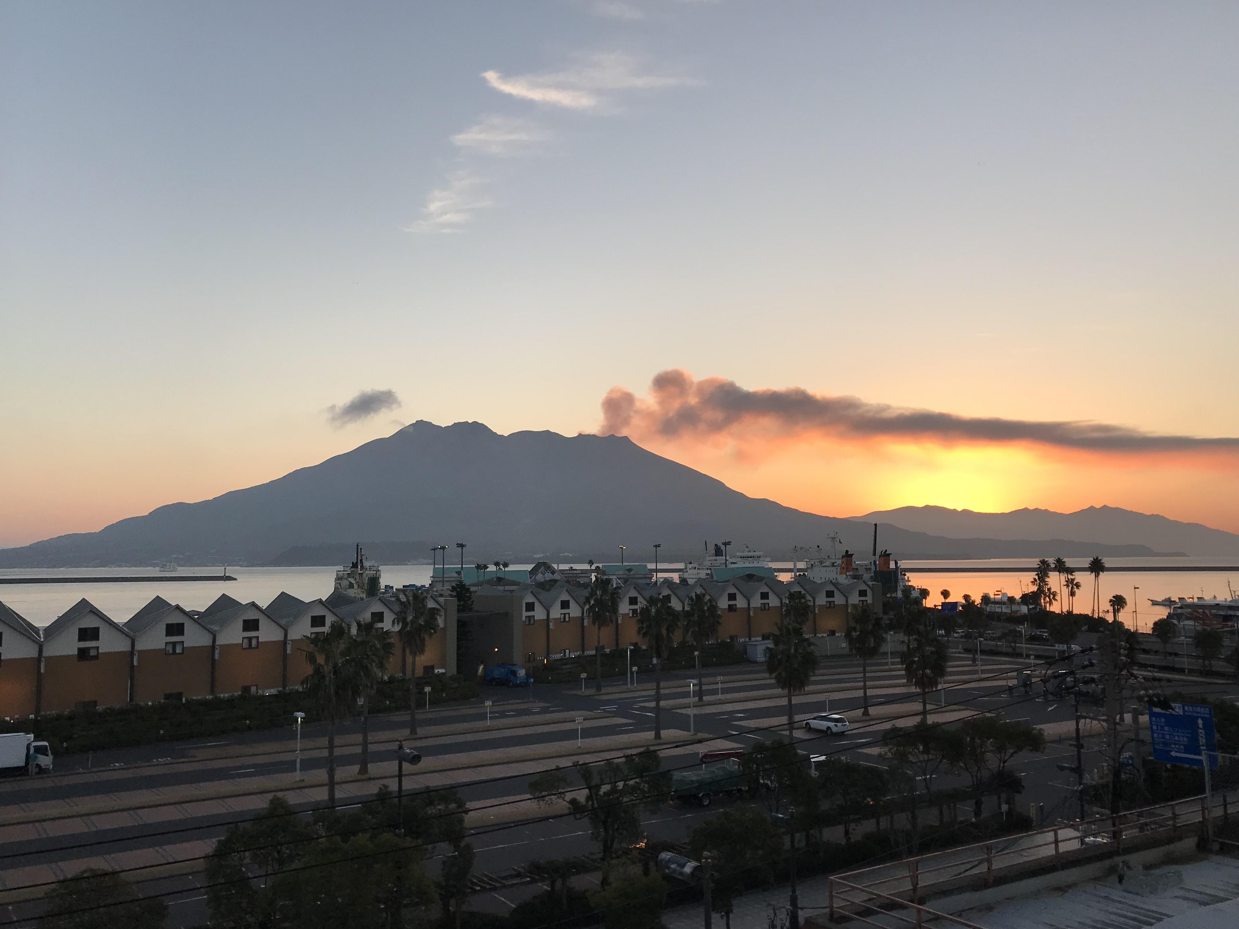Sakurajima – Tanz auf dem Vulkan