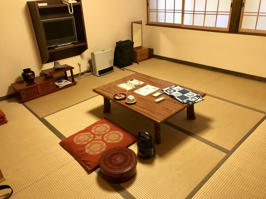 Zimmer im Fukuchi-in (Koyasan)