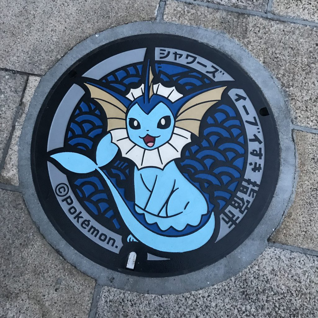 Kanaldeckel Pokemon
