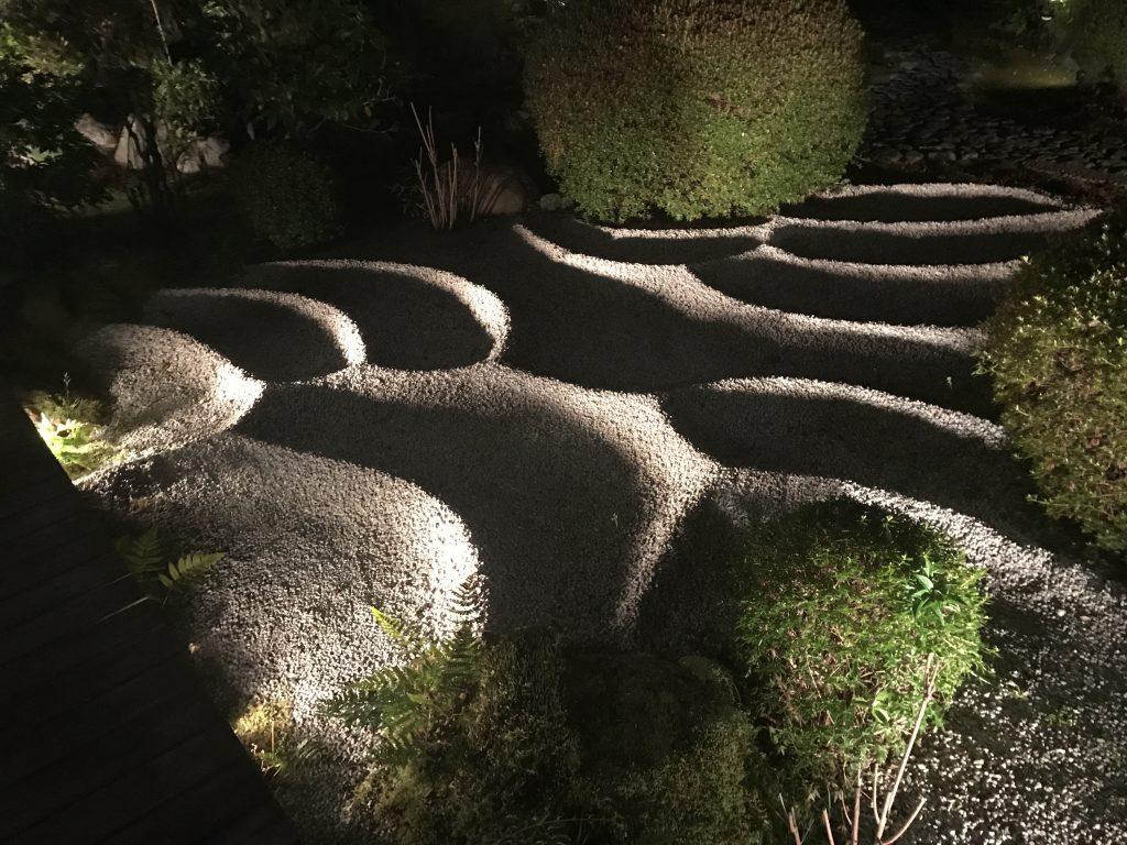 Kanga-an Tempel Steingarten