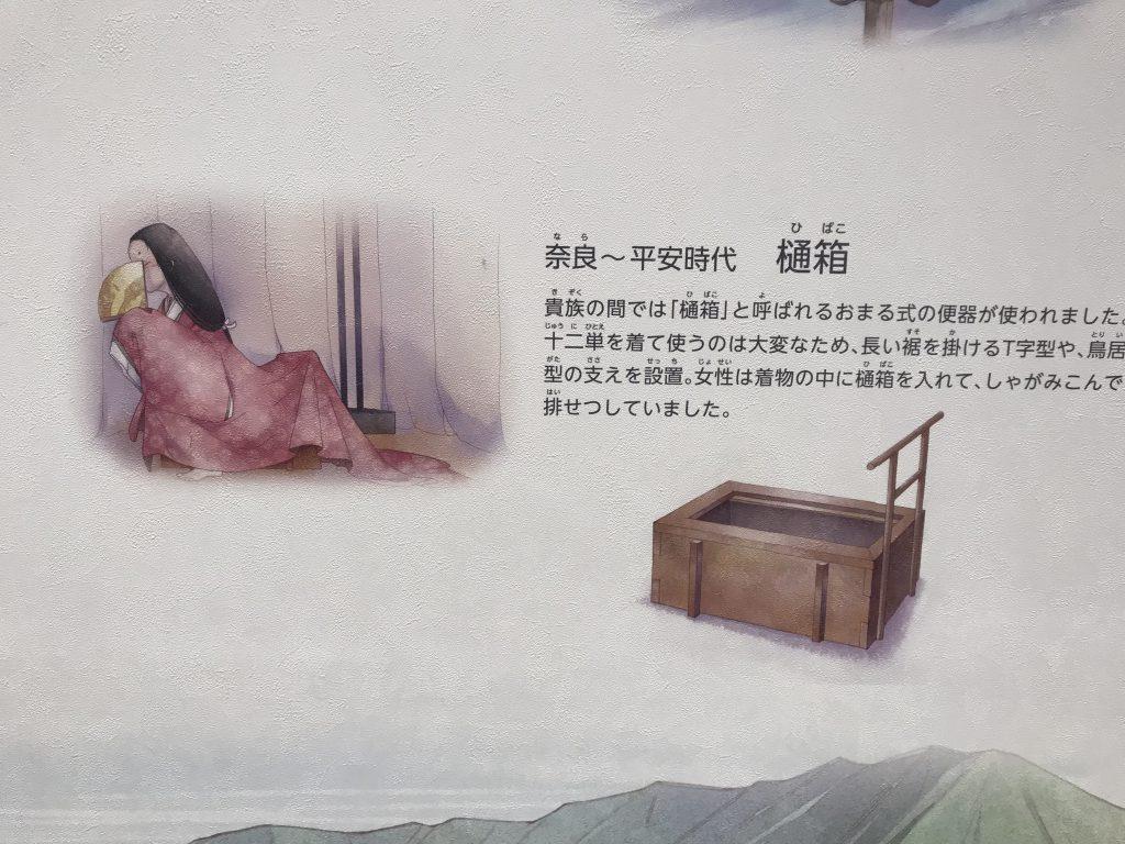 alte japanische Toilette