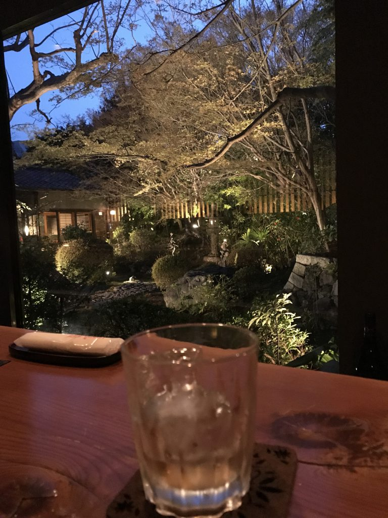 Kanga-an Tempel Blick aus der Bar