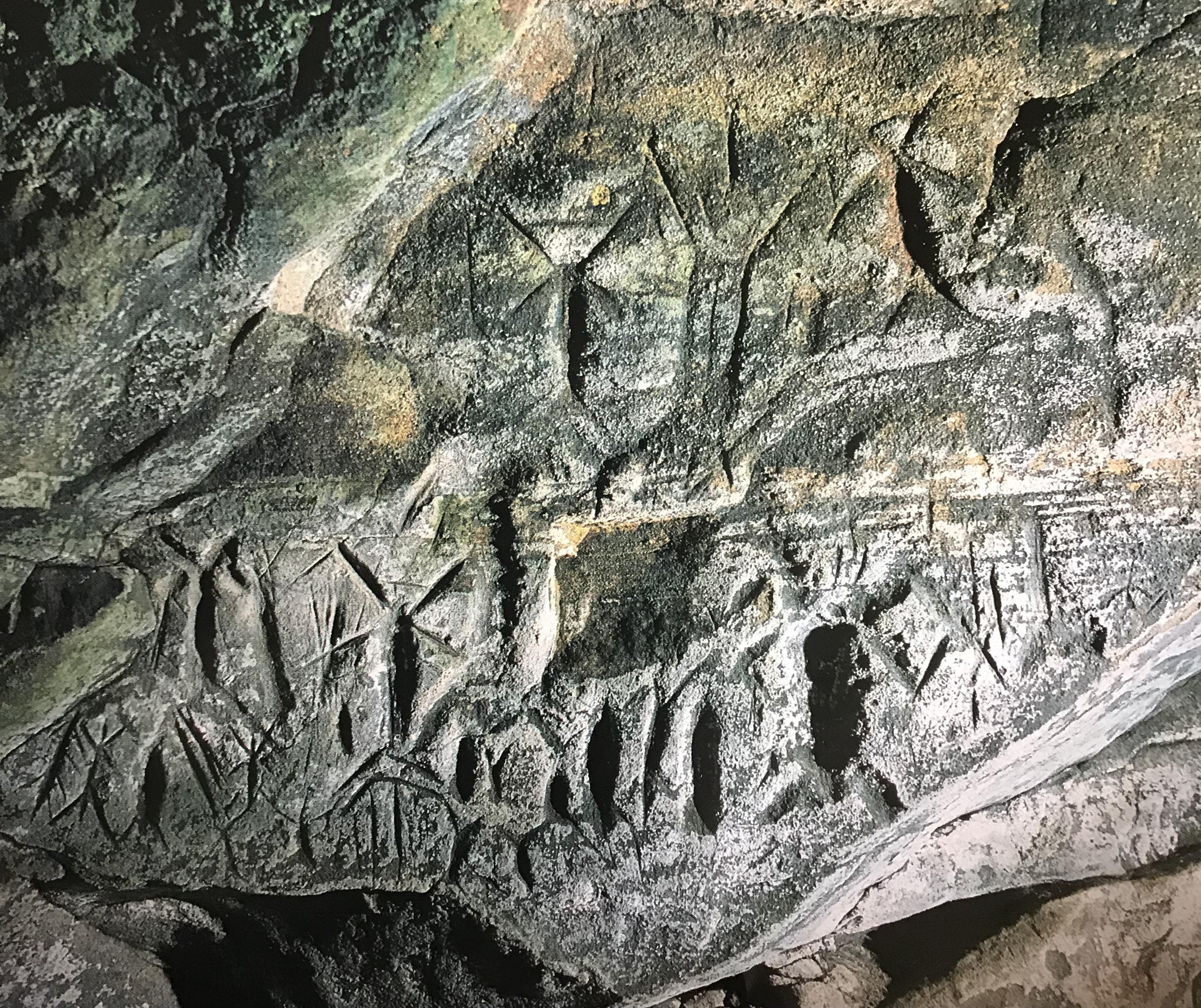 Die Höhlenkunst von Fugoppe und Temiya